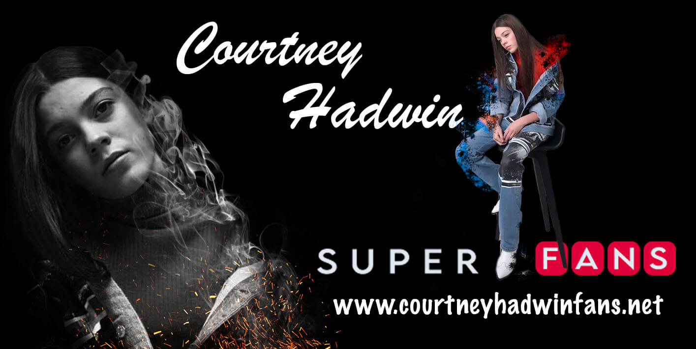 Courtney Hadwin Superfans Website Cover